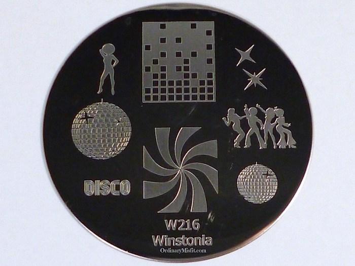 Winstonia stamping plate W216