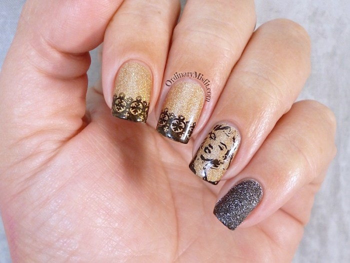 Born Pretty Store Stamping PLate BP L016 nail art