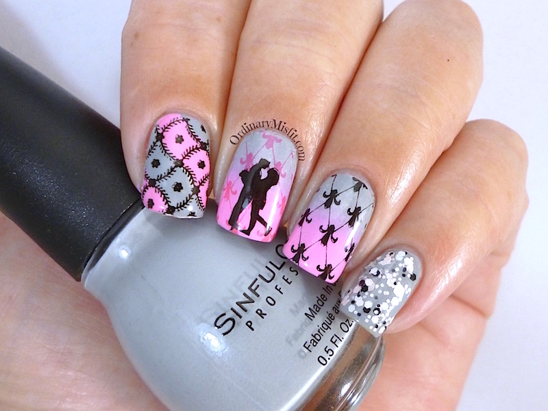 Born Pretty Store stamping plate review - BP-L 016