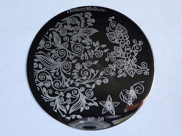 Born Pretty Store plate revview BP-56