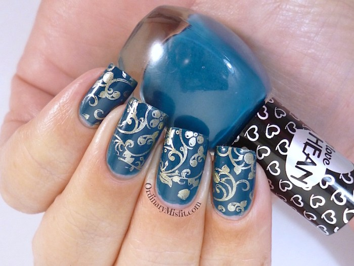 Hean I love Hean collection #408 with nail art