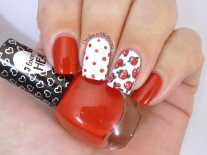 Hean I love Hean collection #804 with nail art