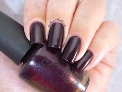 OPI - Black cherry chutney