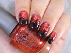 31DC2015 Day 1 Red nails 2