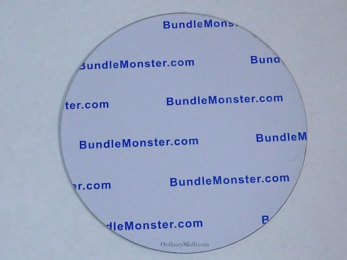 Bundle Monster secret garden stamping plates back