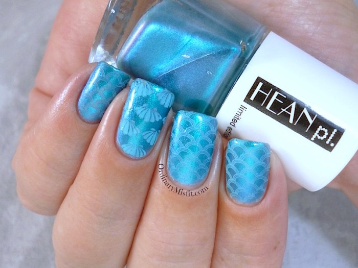 Hean Jungle pop #277 with nail art