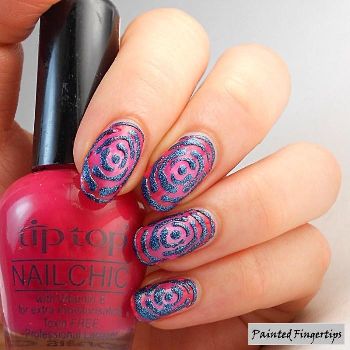 blue-rose-nails