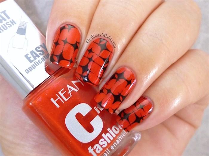 Hean City Fashion #157 with nail art