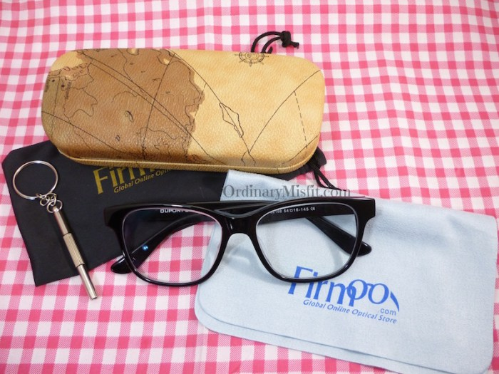 Firmoo glasses Contents