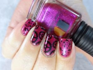 Seduction gears nail art