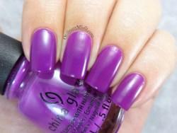 China Glaze - Violet-vibes