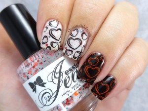 NailLinkup Feb Love : hate nail art