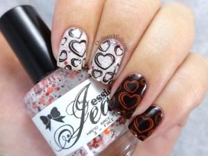 NailLinkup Feb Love : hate nail art