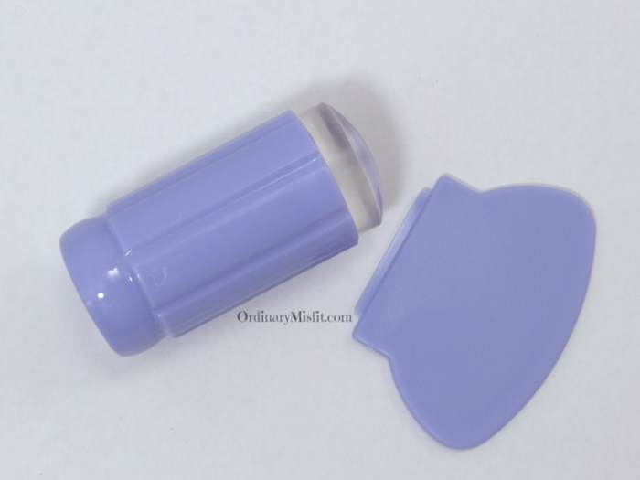 BornPrettyStore Clear stamper purple