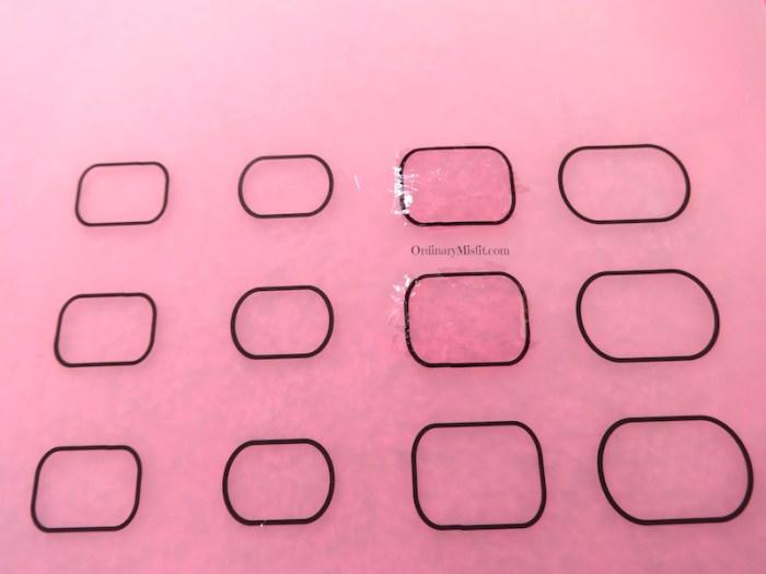 NailCandi review - MoYou magic workshop stamping mat clear base