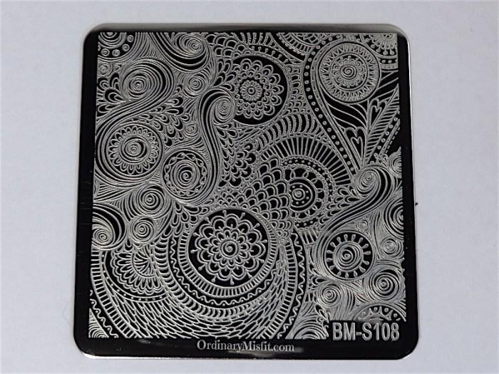 Bundle Monster Shangri la stamping plates BM-S108