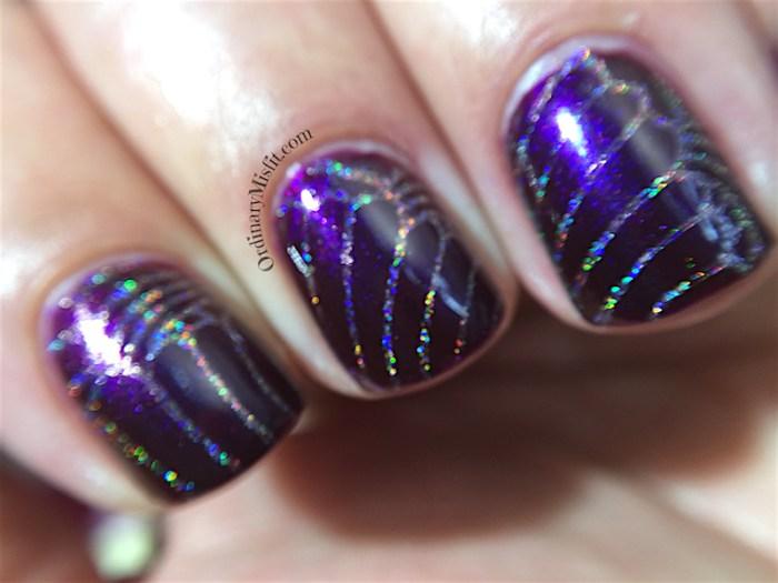 Pueen Buffet leisure stamping plates nail art macro