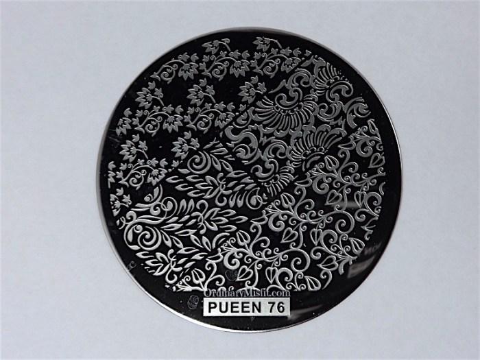 Pueen Buffet leisure stamping plates pueen76