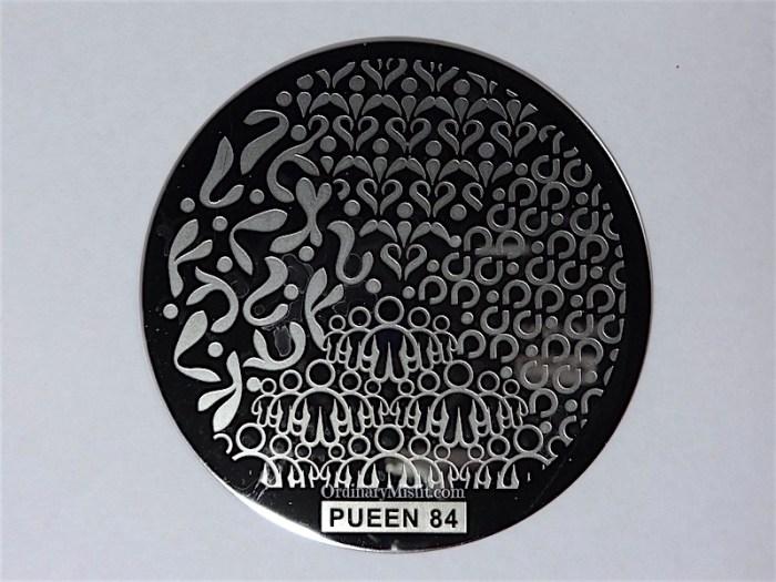Pueen Buffet leisure stamping plates pueen84