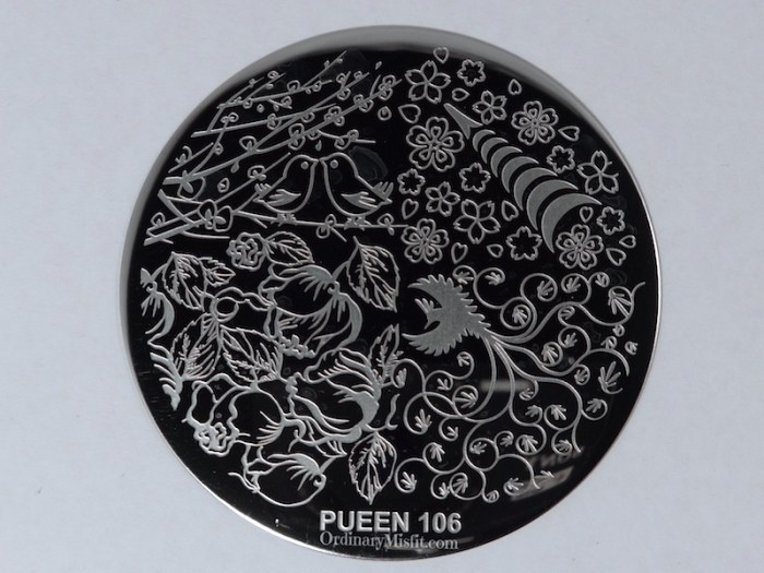 Pueen Make your Day stamping plates pueen106