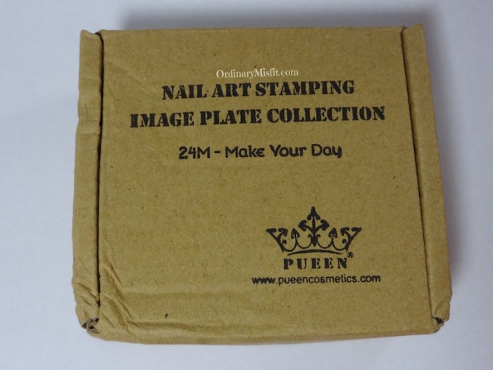 Pueen Make your Day stamping plates