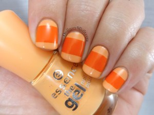 31DC2016 Day 2 Orange nails