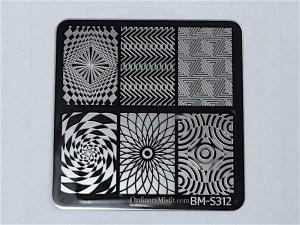 Bundle Monster Musik City stamping plates BM-S312