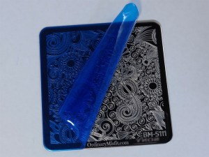 Bundle Monster Paisly Flow stamping plates with wrap
