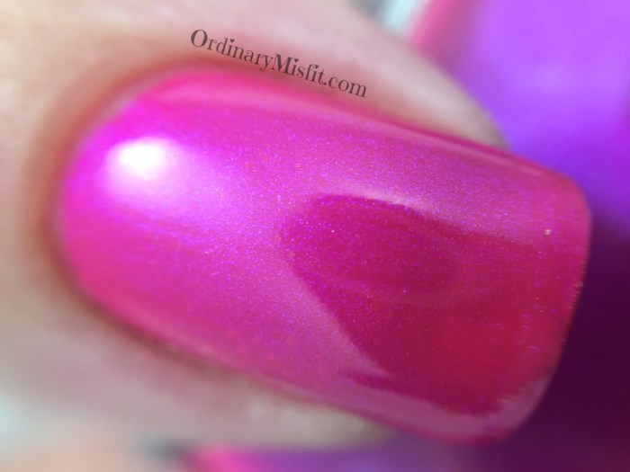 Smudge - Sweet cerise macro