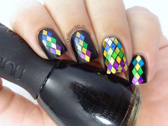 52 week nail art challenge - Glitter nail art