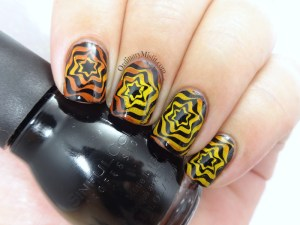 BP-L050 gradient swirl nail art