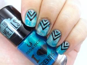 Friday Triad Feb Inspired by Pshiiit nail art