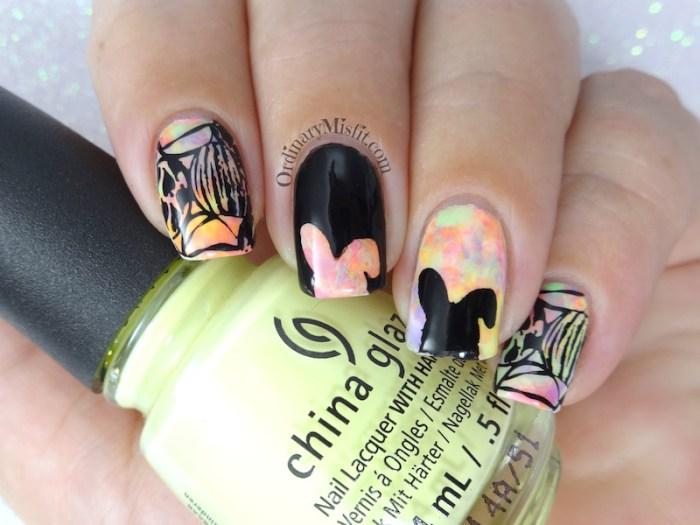 52 week nail art challenge - Easter