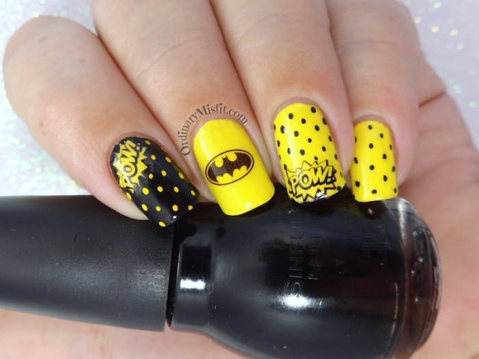 52 week nail art challenge - Inspired by a fictional character