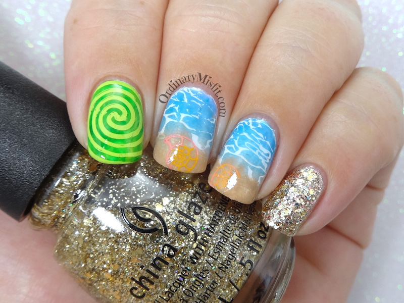 52 week nail art challenge - Week 19: Inspired by a movie