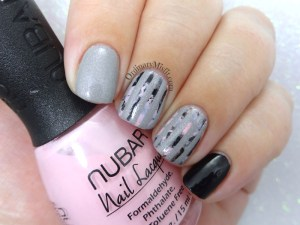 52 week nail art challenge - Stripes