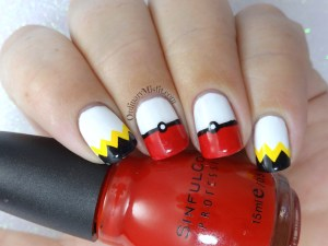 52 week nail art challenge - Inspired by a game