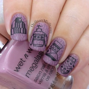 Winter for 52weeknailchallenge and of course today is coooooold loveit