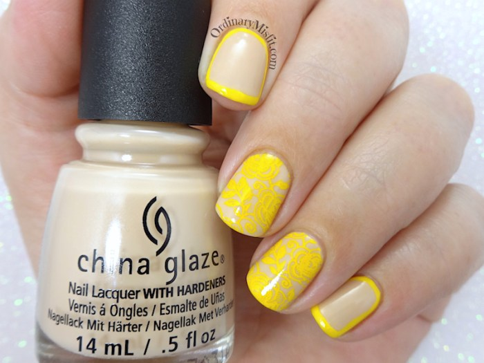 52 week nail art challenge - Inspired by fashion