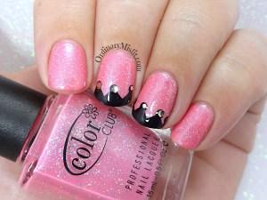 I did Muddy Princess - and my nails matched