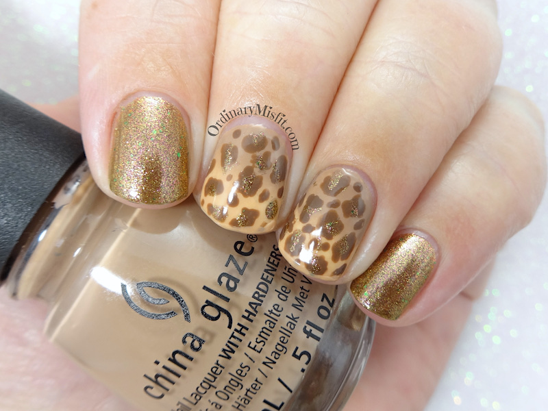 52 week nail art challenge - Week 39: Animal
