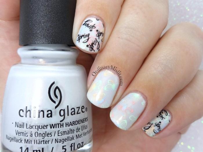 52 week nail art challenge - Spring