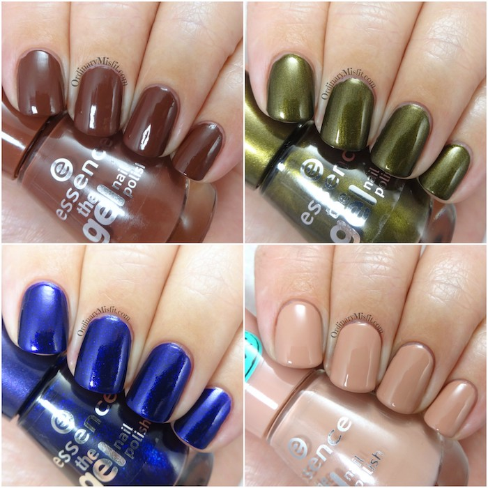 Essence Range Update 2017 - The Gel nail polishes