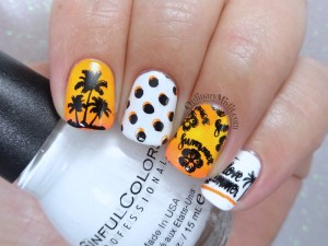 52 week nail art challenge - Summer