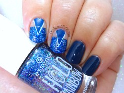 31DC2018 Day 5- Blue nails