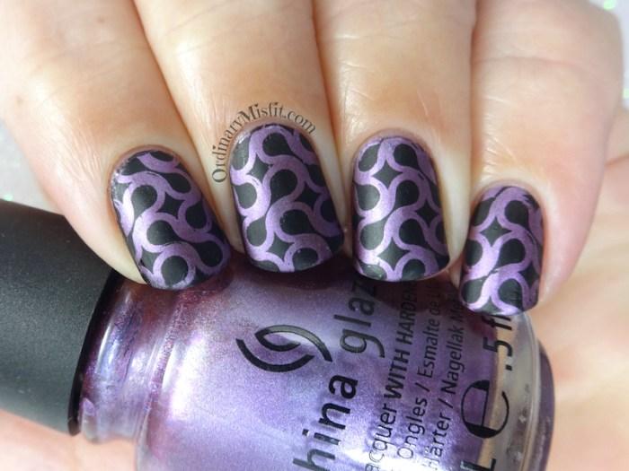 31DC2018 Day 8- Metallic nails