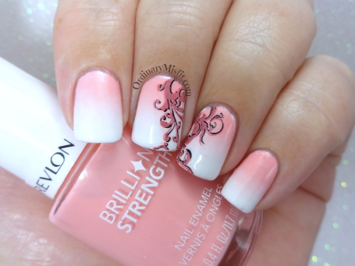 Week 40 - White & pink
