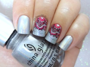 Born Pretty Store review - Mandala S004 stamping plate