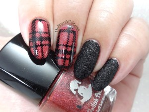Red holo plaid