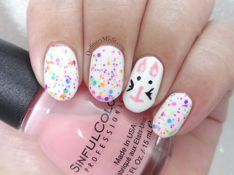 52 week nail art challenge - Week 16: Easter